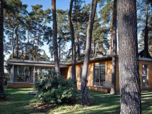 Neubau Bungalow Holz-Alu