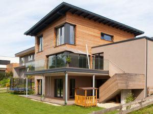 Neubau Holz-Alu Fenster