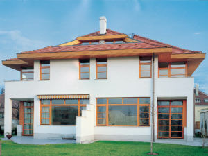 Neubau Holz Fenster