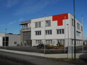 Neubau Rotes Kreuz Kunststoff Fenster